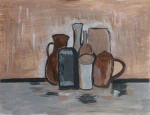 Abstract a la Morandi