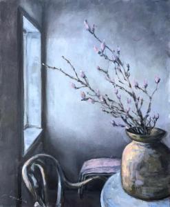Stillife with Magnolia